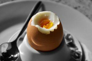 Vajce na hniličku čas