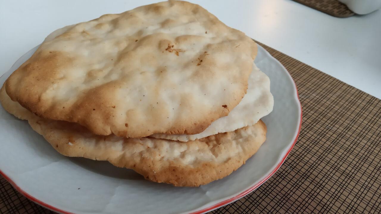 Pita chlieb (AIP paleo)
