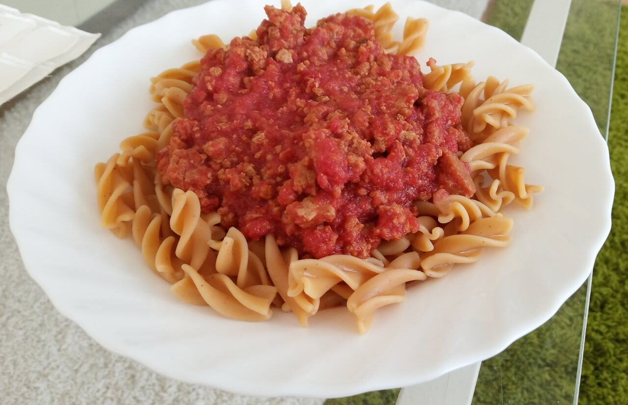 Omáčka bolognese bez paradajok (vhodná pri histamínovej intolerancii, AIP)